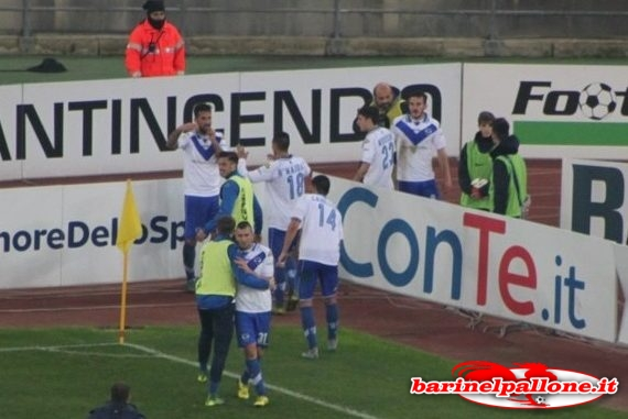 Bari-Brescia 2-0: highlights di serie B