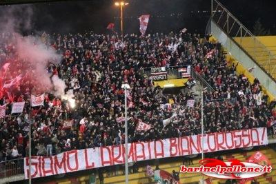 Tifosi baresi a Benevento: l'ultimo sorriso esterno di questo campionato
